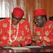 President Muhammadu Buhari and Ebonyi State governor, David Umahi