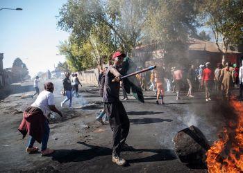 Xenophobia attack file photo