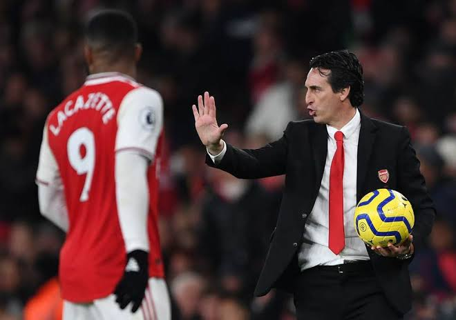 Sacked Arsenal coach, Unai Emery