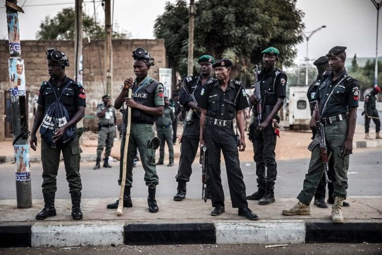 File photo of policemen