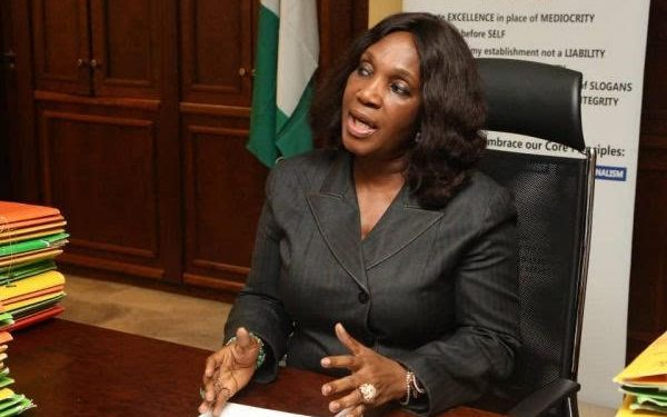 Dr. Joy Nunieh, Acting Managing Director of the Niger Delta Development Commission (NDDC).