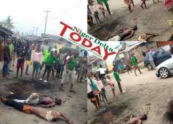 The victims dumped at Owhase in Udu Council area of Delta State