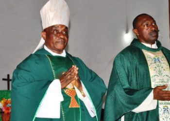 Bishop of Catholic Diocese of Warri, Most  Rev. Dr. John Oke'Oghene Afareha