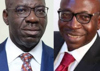 Governor Obaseki and Pastor Ize-Iyamu