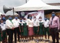 Delta State NMA members with some staff and students of Unity School, Agbarho