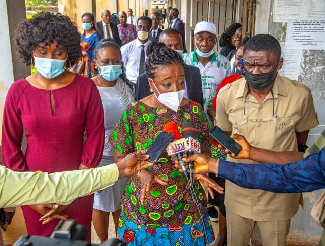 Edo First Lady, Mrs Betsy Obaseki and Edo Deputy Governor, Philip Shaibu