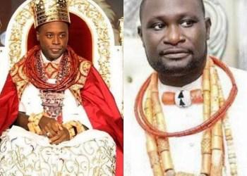Olu of Warri and Chief Ayiri