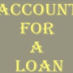 Account For A Loan