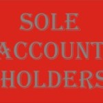 Sole Account Holders