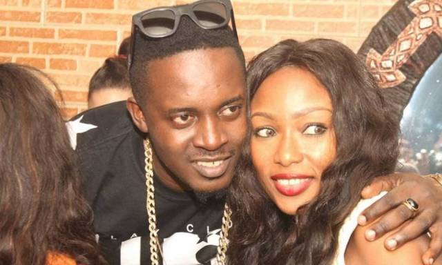 M.I Abaga and  Erica Okundaye