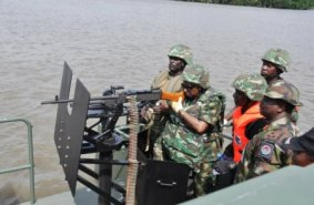 Image result for NAVY arrests four suspected pirates in Bayelsa
