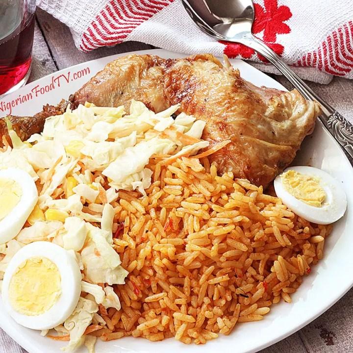 Nigerian Jollof Rice(the Party Jollof Rice)