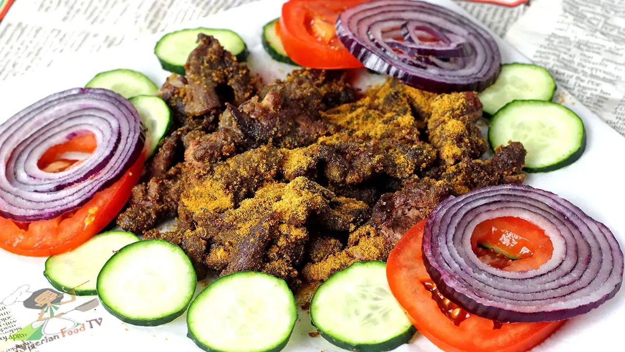 Nigerian Suya Recipe
