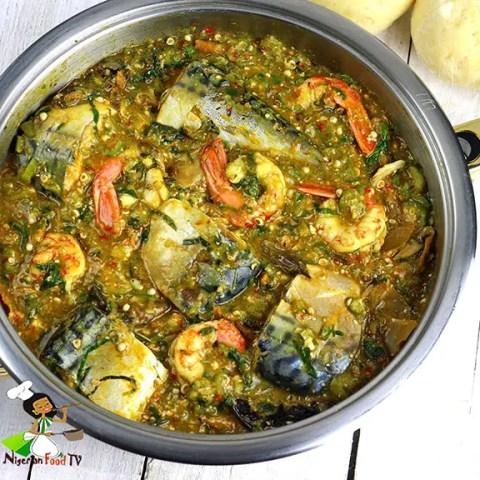 seafood okro soup gumbo seafood nigerian african okro soup recipe