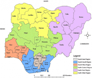 Top 5 Largest States in Nigeria by Land mass - Nigerian Infopedia