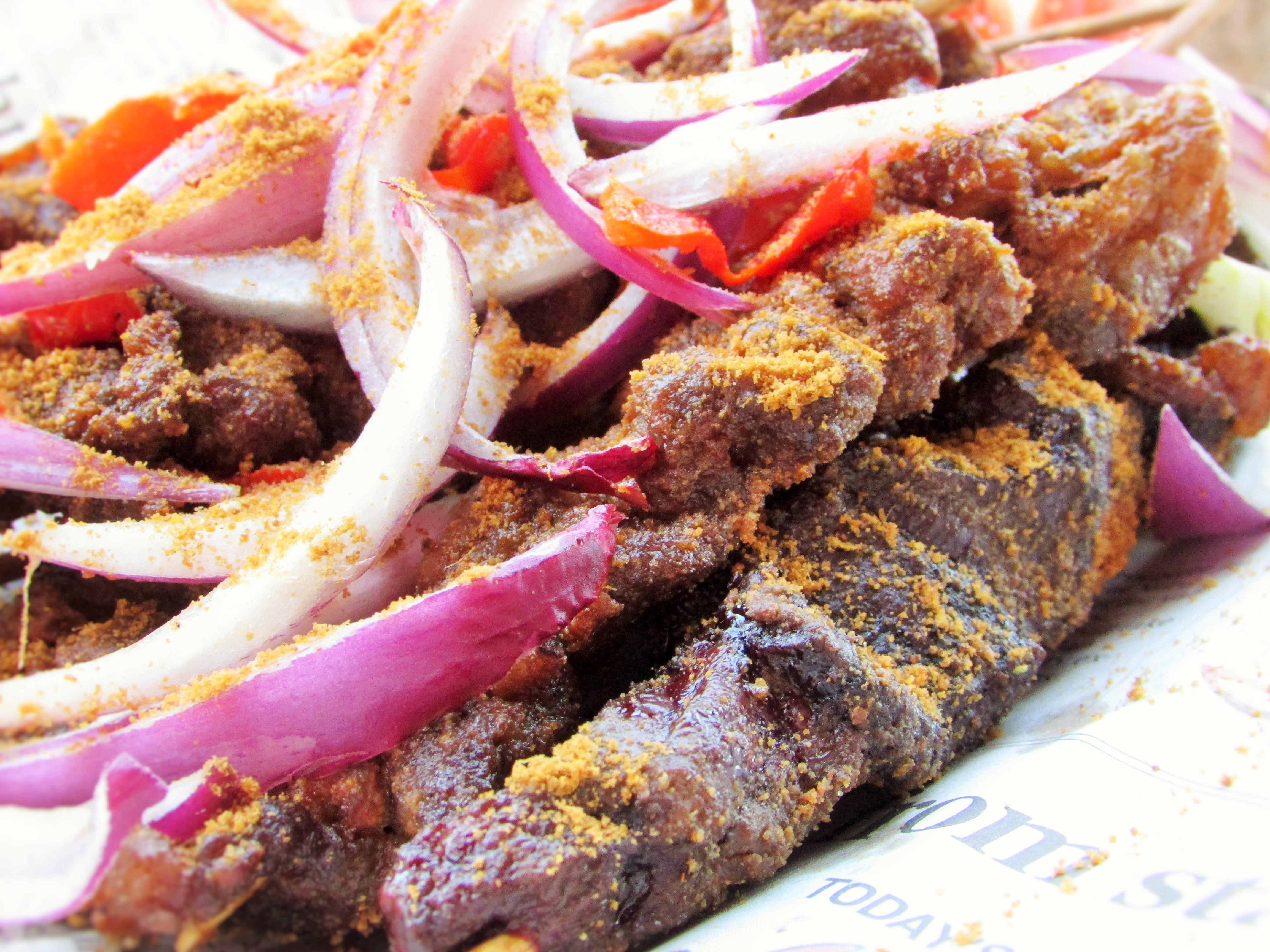 Beef And Liver Suya Nigerian Lazy Chef