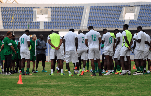 Image result for Buhari hails Super Eagles over victory against Zambia