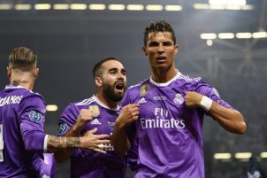 Image result for UCL : Madrid beat 10-man Juventus, clinch 12th title