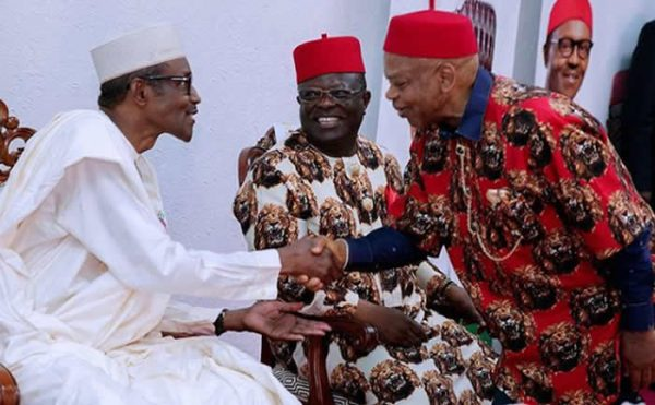 Image result for photos of nigeria's president honored with chieftaincy title