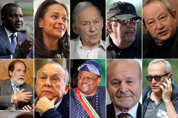 The 10 richest people in Africa - Nigerian Today