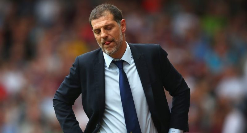 Slaven Bilic Sacked