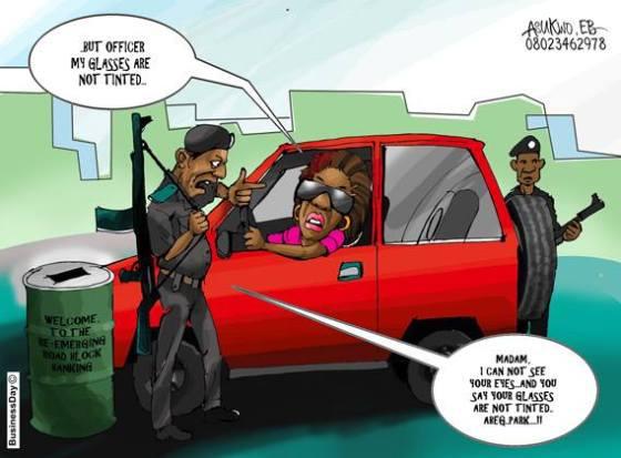 The return of road block banking