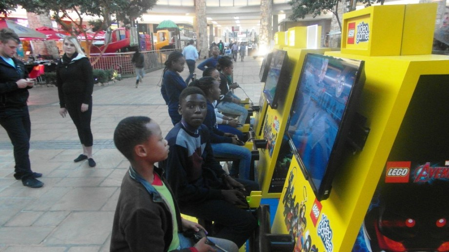 Nigerian Speller Jesse at ClearWater Mall, Johannesburg