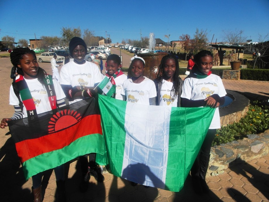 Team Nigera and Team Malawi
