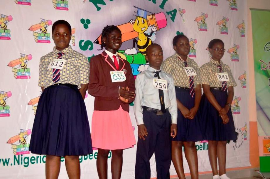 TOP5 Nigeria Spelling Bee Ogun State Competition