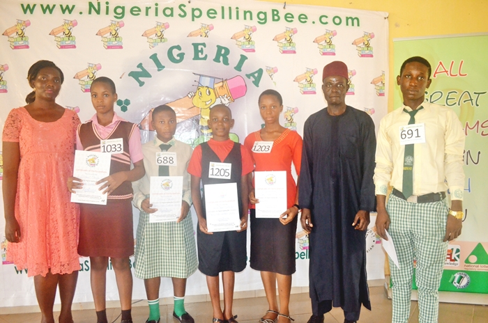 Judges with Abia Top5 spellers