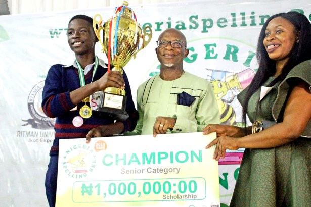 Be the Nigeria Spelling Bee Champion and win amazing prizes