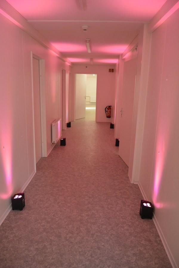 Exemple de réalisation avec Projecteur à LED sans Fil Freedom 4x 10W