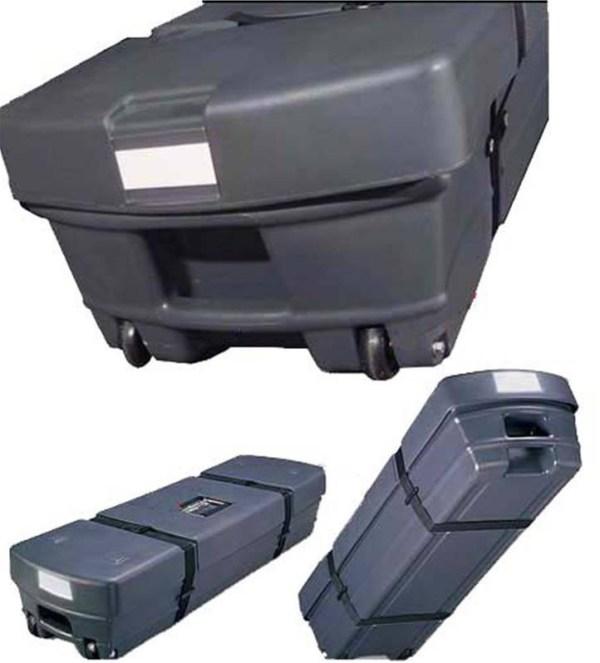 Ecran valise pour vidéoprojecteur 16/9 (260 x 144)