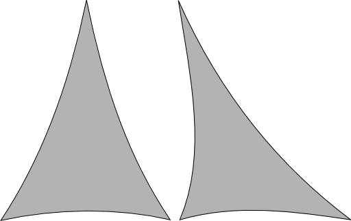 Triangle de Lycra Extensible 300cm x 300cm