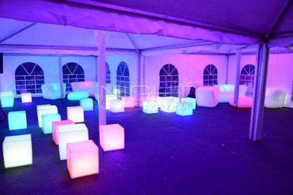 Cube LED Slide 35cm (Assise)