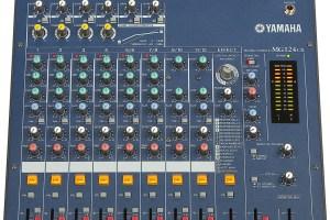 Console de mixage Yamaha MG124cx
