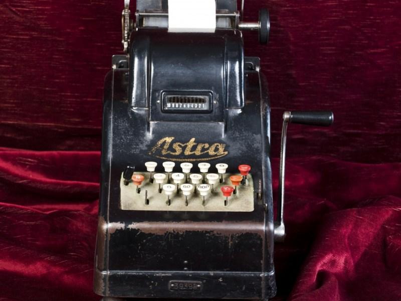 Сметачна машина ASTRA, Германия, 1920-те