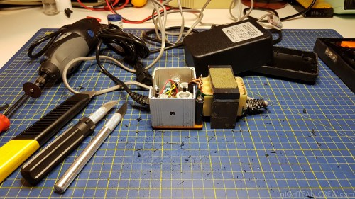 small resolution of colecovision power supply repair
