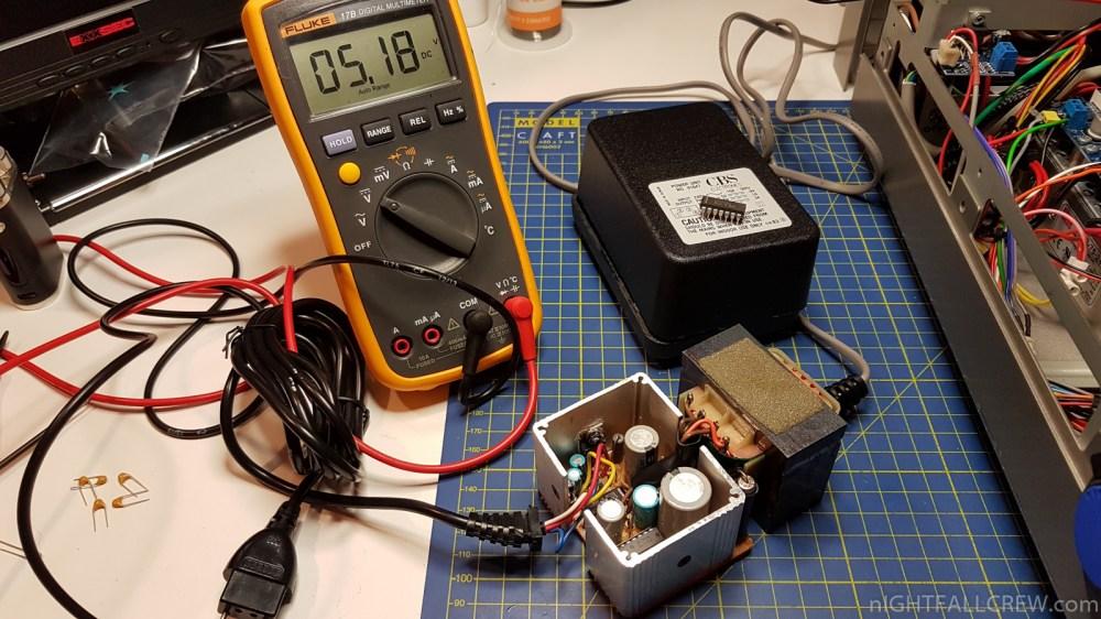 medium resolution of colecovision power supply repair