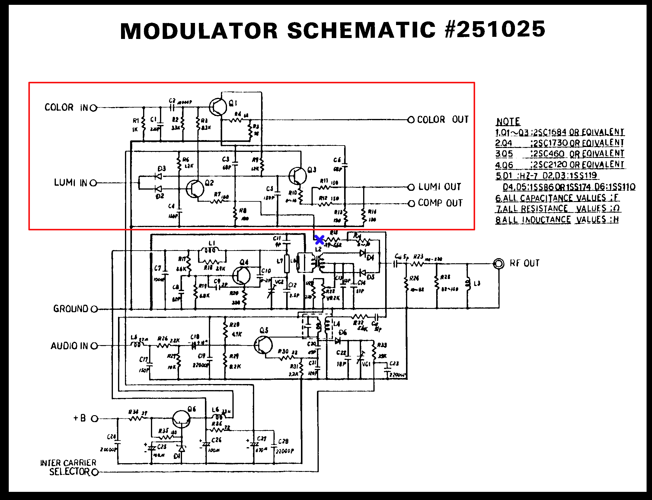 Rf Modulator Wiring Diagram Auto Electrical Related With