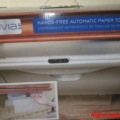 Automatic Paper Towel Dispenser For Kitchen Pictures Of Islands Innovia Every Home Needs