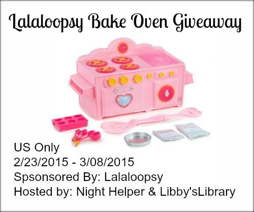 Lalaloopsy Bake Oven Giveaway