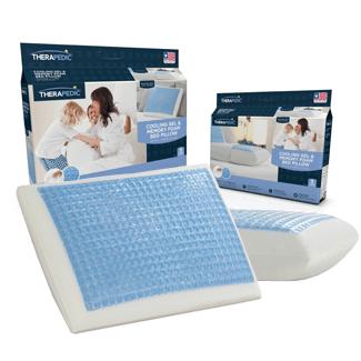 Therapedic Cooling Gel and Memory Foam Pillow Giveaway