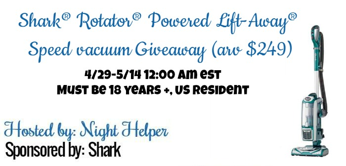 Shark® Rotator® Powered Lift-Away® Speed vacuum!