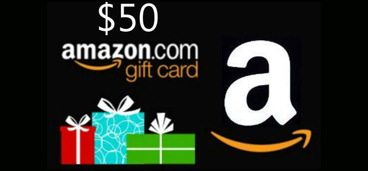 Yay Its An 50 Amazon Gift Card Giveaway Night Helper