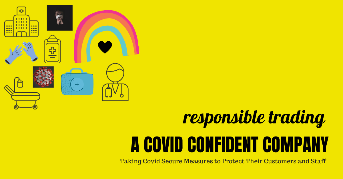 Proud To Be A Covid Confident Company