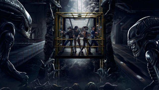 VR Experience: ALIEN: DESCENT - Nightmarish Conjurings