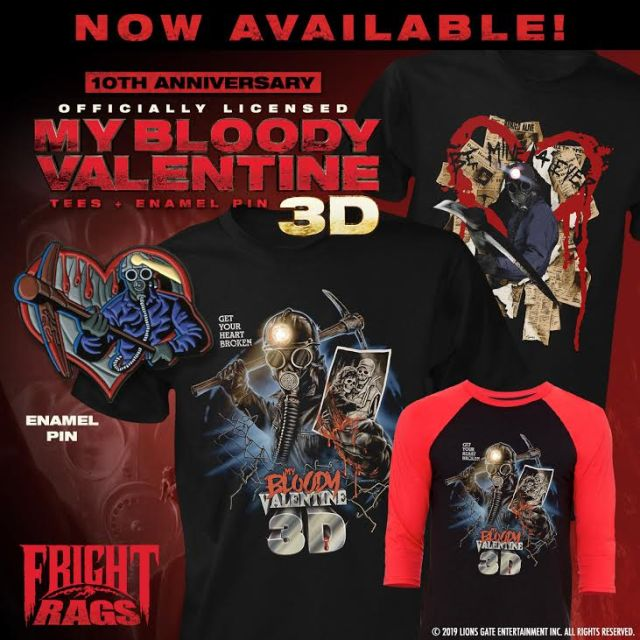 [News] Enjoy Valentine's Day with New Fright-Rags Apparel