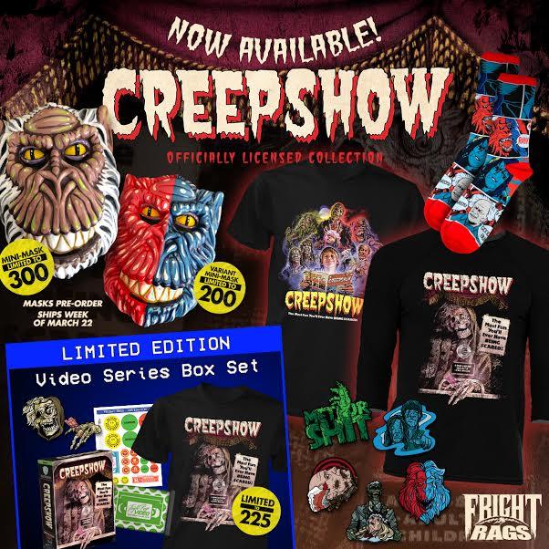 News] Fright-Rags Announces New Creepshow & The Evil Dead