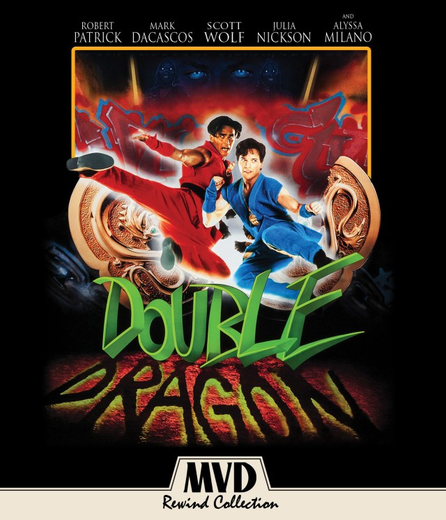 Blu Ray Dvd Review Double Dragon 1994 Nightmarish Conjurings